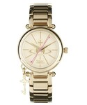 Vivienne Westwood | Vivienne Westwood Orb Face Gold Watch - Gold(腕時計)
