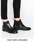 Asos | ASOS COLLECTION ASOS AIRBOUND Leather Chelsea Ankle Boots(ブーツ)